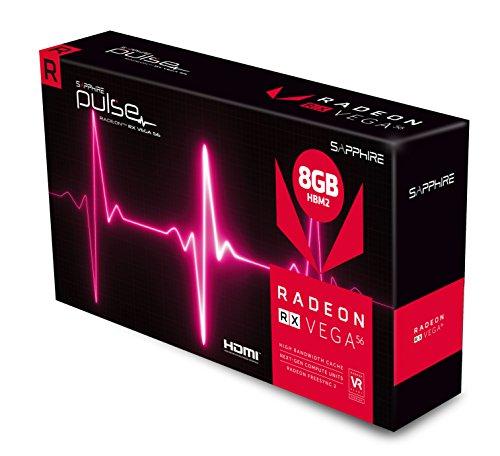 Amazon MX: Tarjeta de Video RADEON RX Vega 56 Sapphire Pulse (Vendido por Amazon USA)