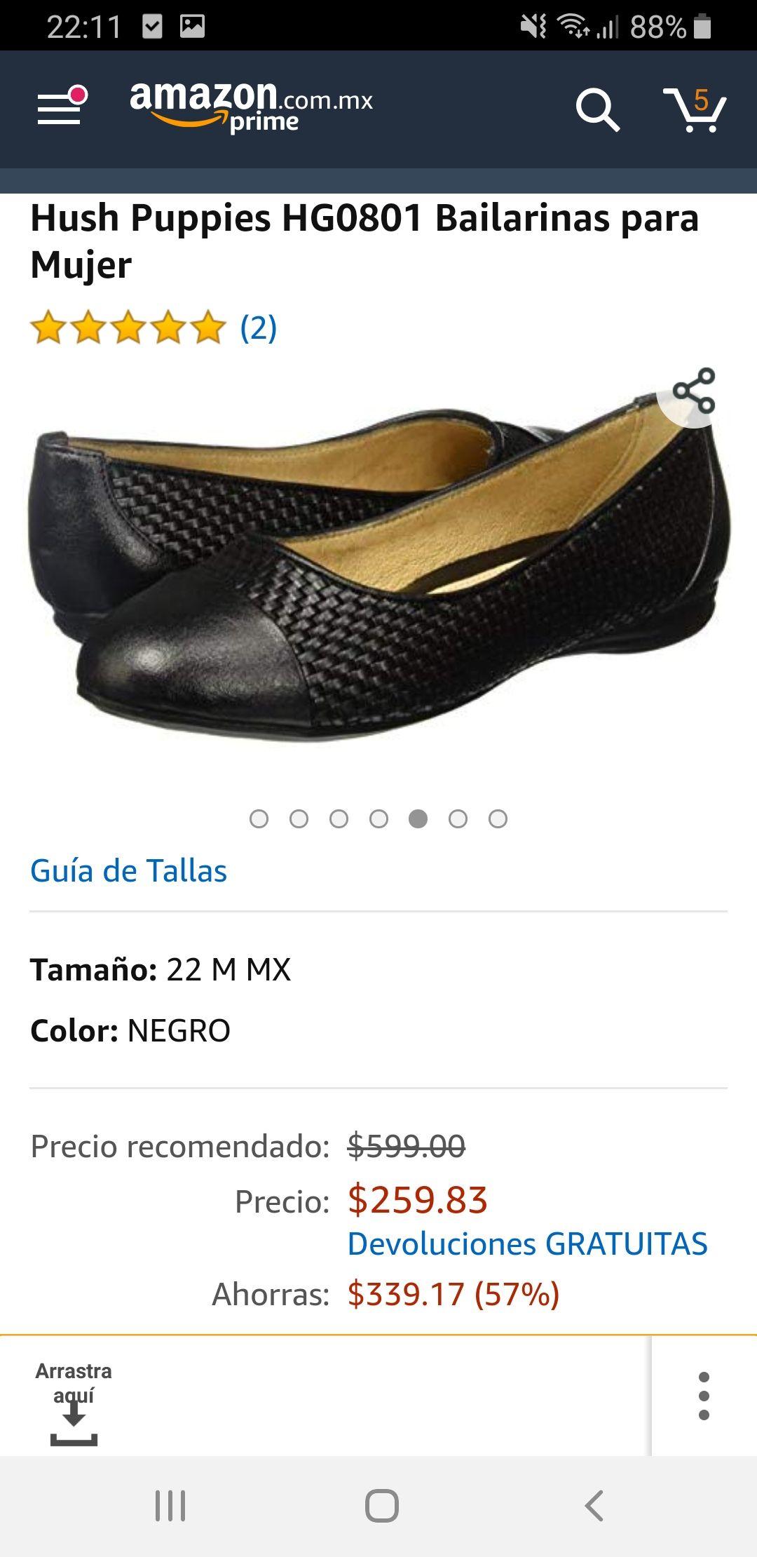 Amazon MX: Hush puppies mujer no. 2