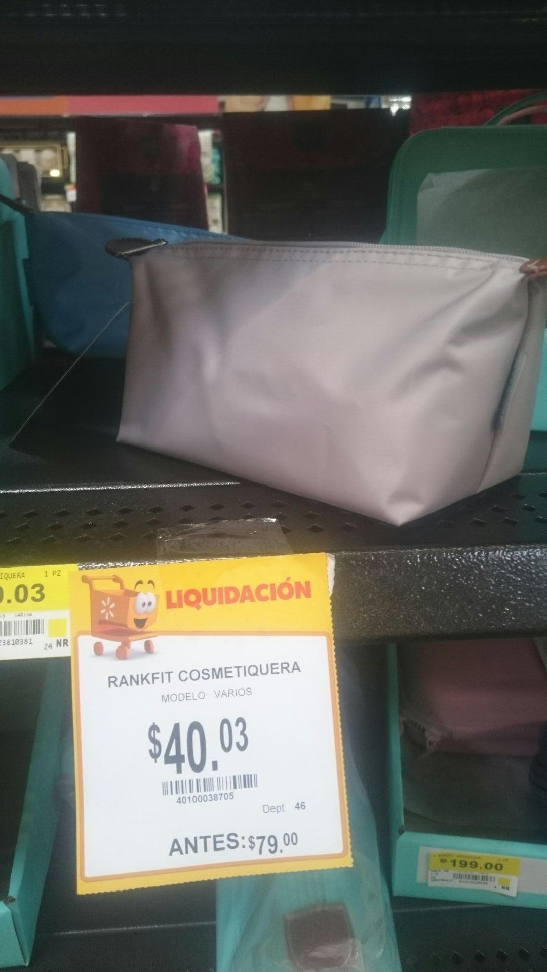 Walmart: Cosmetiquera Rankfit