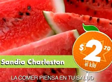 Miércoles de Plaza en La Comer agosto 14: Sandía $2.70 y más