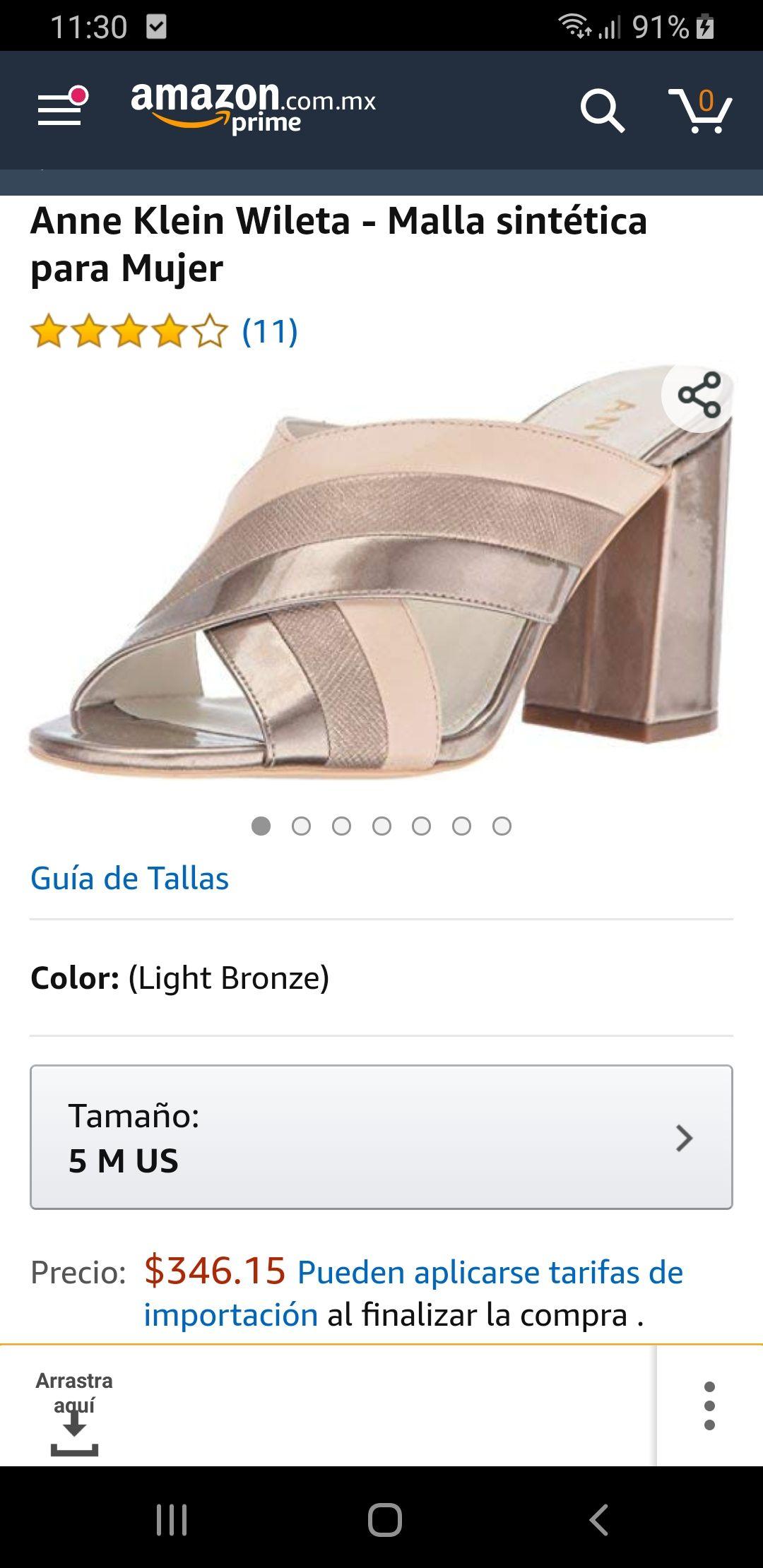 Amazon: Anne Klein Wileta (5 US)