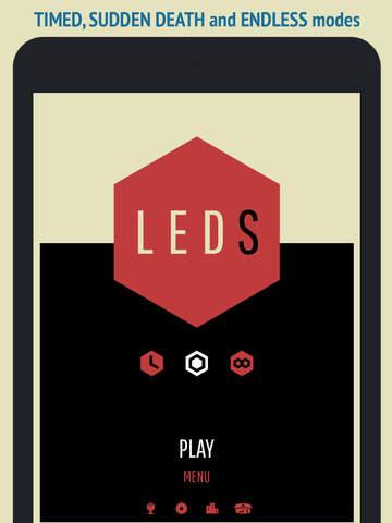 Juego LEDS para iOS GRATIS por 48 horas en Apple Appstore (incluyendo $207.00 en extras).