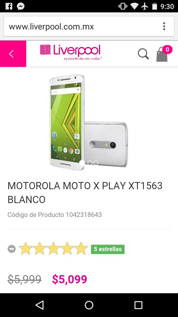 Liverpool: Moto X Play