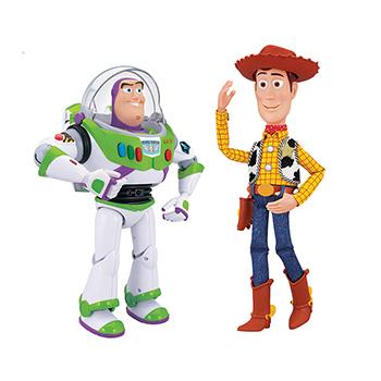Costco: Pack de Woody y Buzz lightyear y woody interactivo