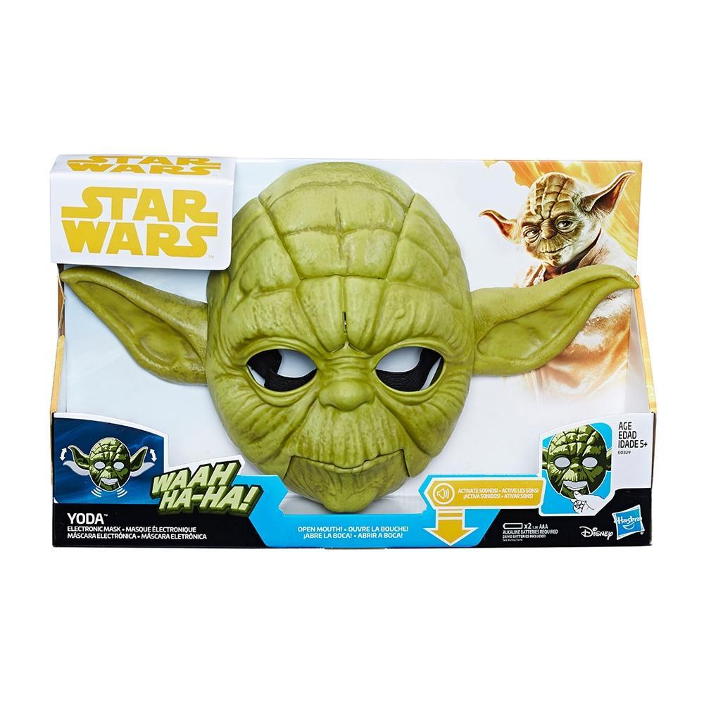 Walmart: Máscara electronica de yoda star wars