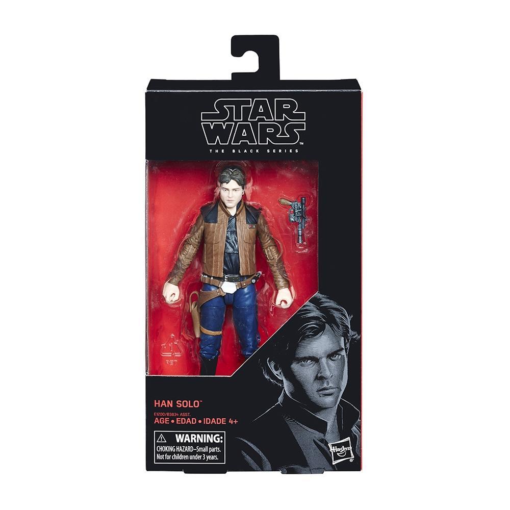 Walmart: Figuras Lando y Han Solo, Black Series. $99 c/u