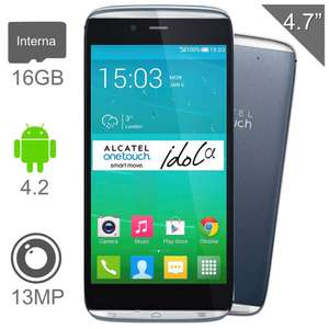 walmart online alcatel Idol Alpha 16 GB Gris