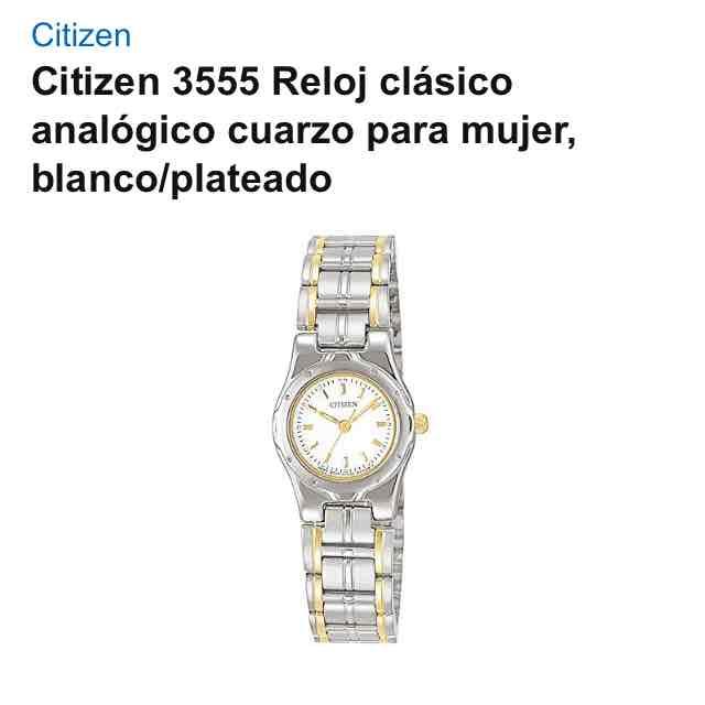 Amazon: Reloj citizen mujer