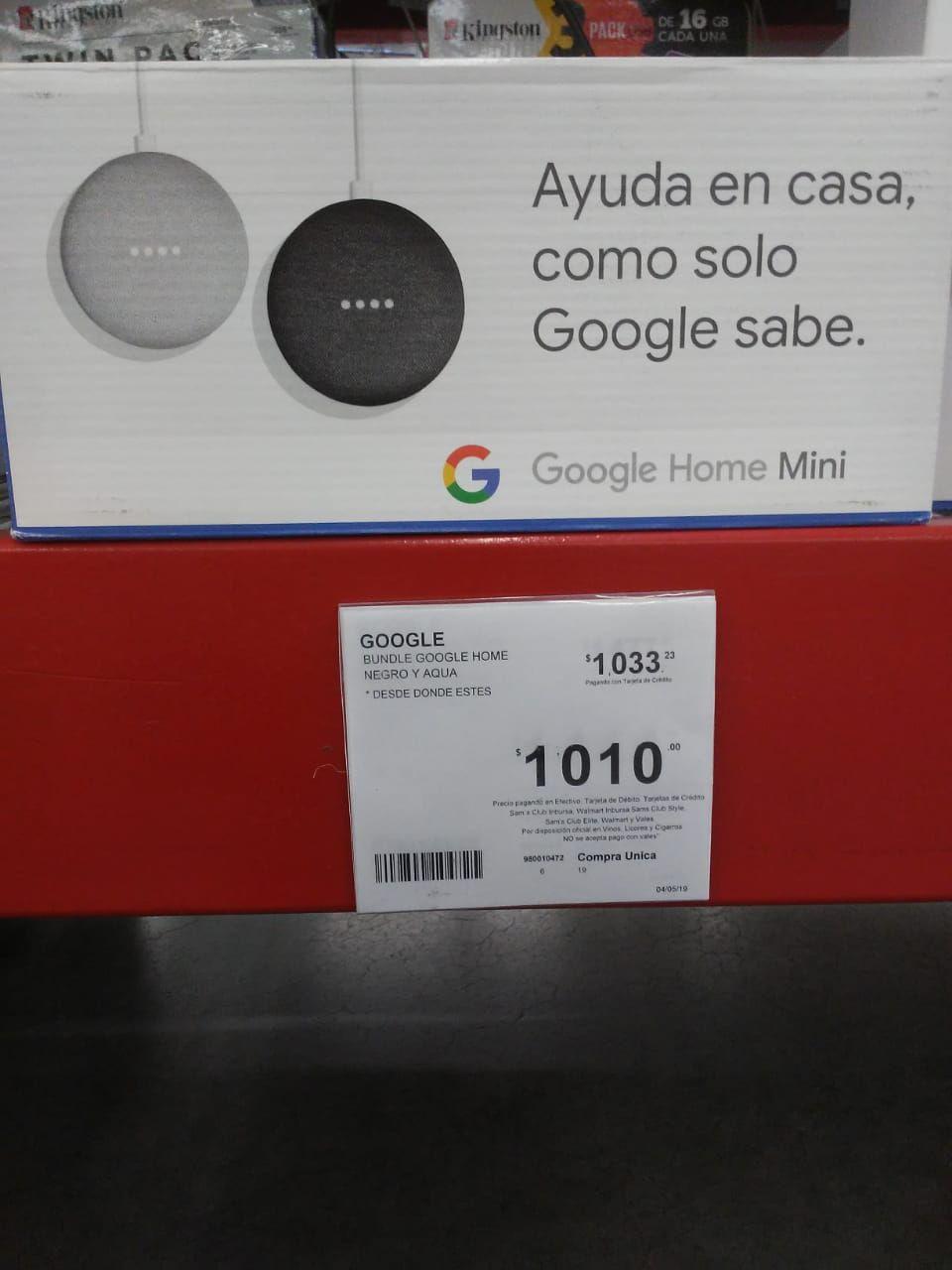 Sam's Club: Google Home Mini 2x$1,010