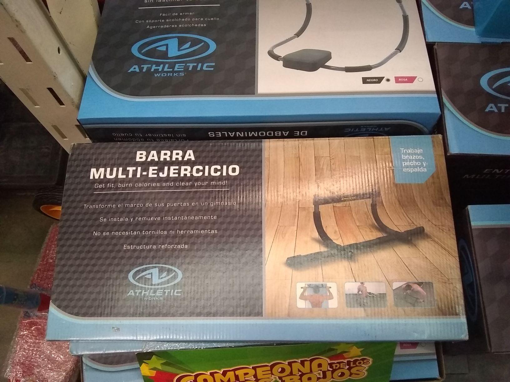 Bodega Aurrerá: Barra multi ejercicio