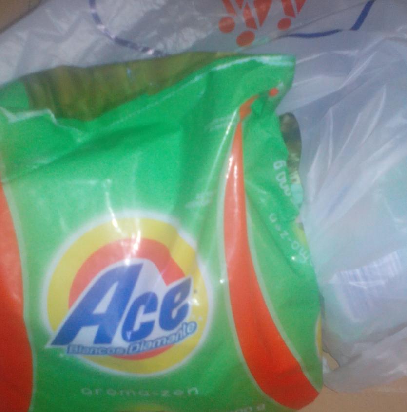 Chedraui: Detergente en polvo Ace aroma zen 900gr. $9.80