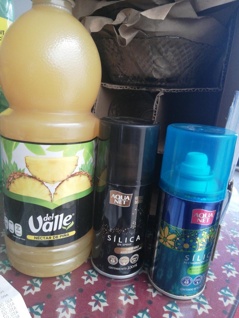Bodega aurrera San Agustín: Spray Aquanet Silica, promonovela y otras cosas