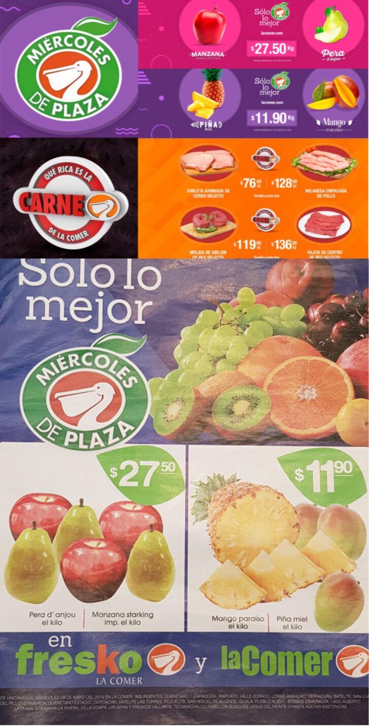 La Comer y Fresko: Miércoles de Plaza 08 de Mayo 2019 | Mango Paraíso $11.90kg; Pera D'Anjou $27.50kg y mucho más...