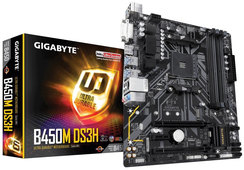 Cyberpuerta: Tarjeta Madre Gigabyte micro ATX B450M DS3H