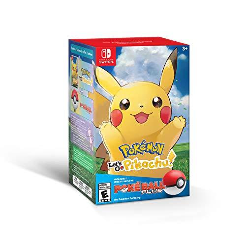 Amazon Pokémon Lets go pikachu plus