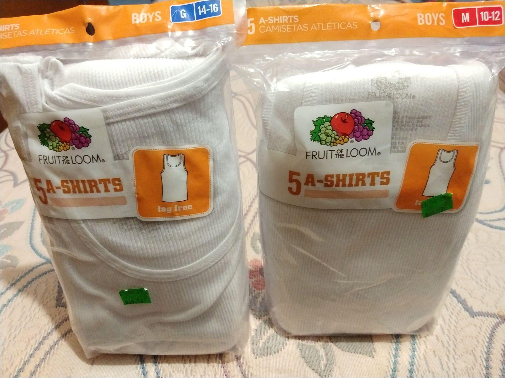 Walmart Unidad Taxqueña: Paquete de 5 Camisetas Fruit of the Loom en $30.02, Pijama Hello Kitty en $60.02, Legging Danskin Now en $60.02
