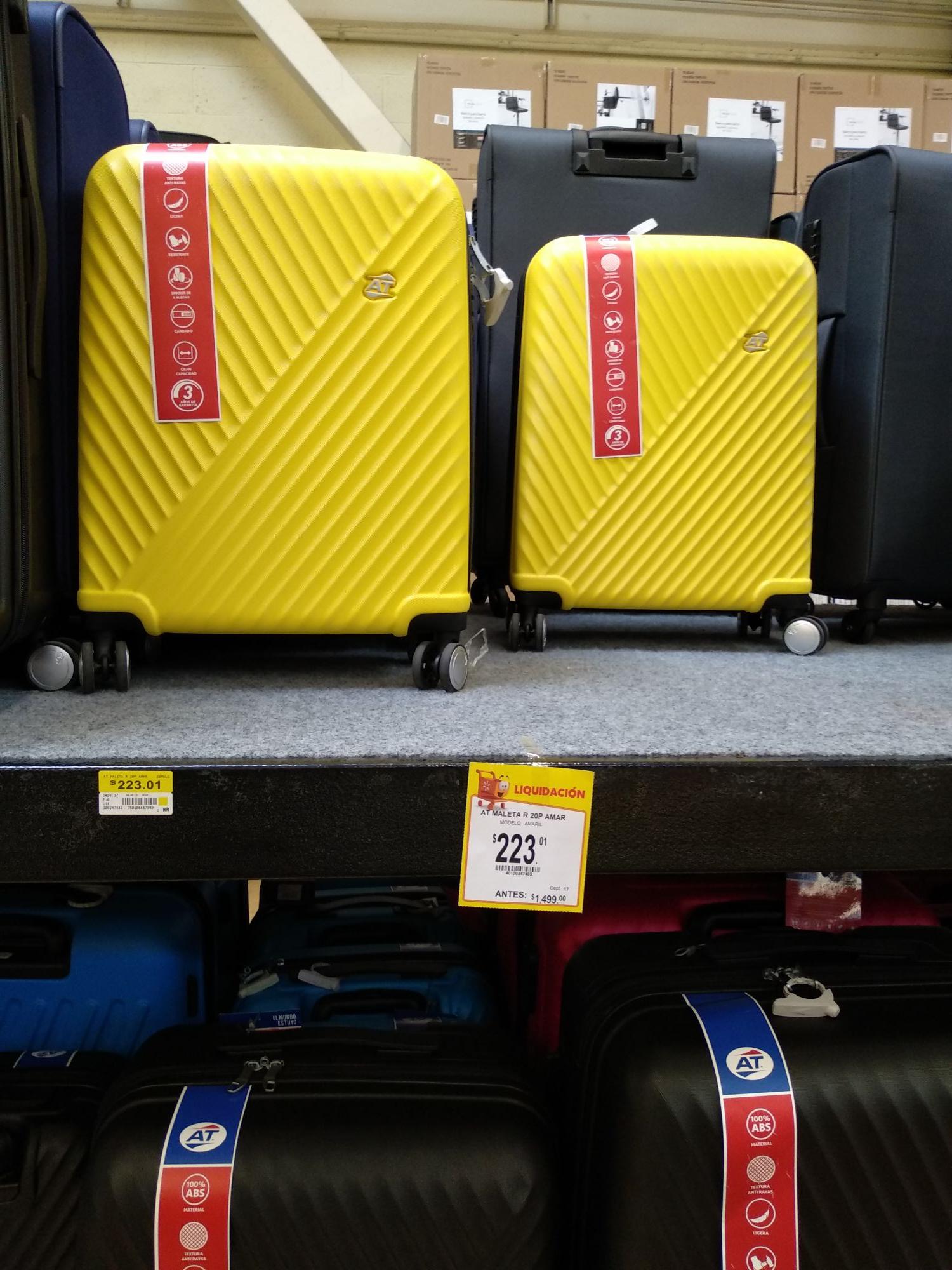 Walmart: maleta de 20p y  cerveza cucapa ámbar $41.20
