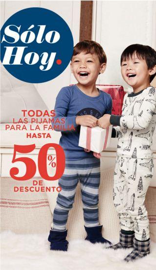 Old Navy: Solo hoy hasta 50% en Pijamas