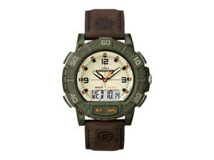 Amazon.mx: Timex Expedition Double Shock, marrón T49969