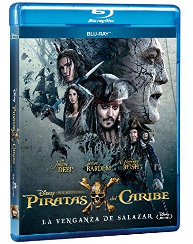 AMAZON: Piratas del Caribe: La Venganza de Salazar [Blu-ray]
