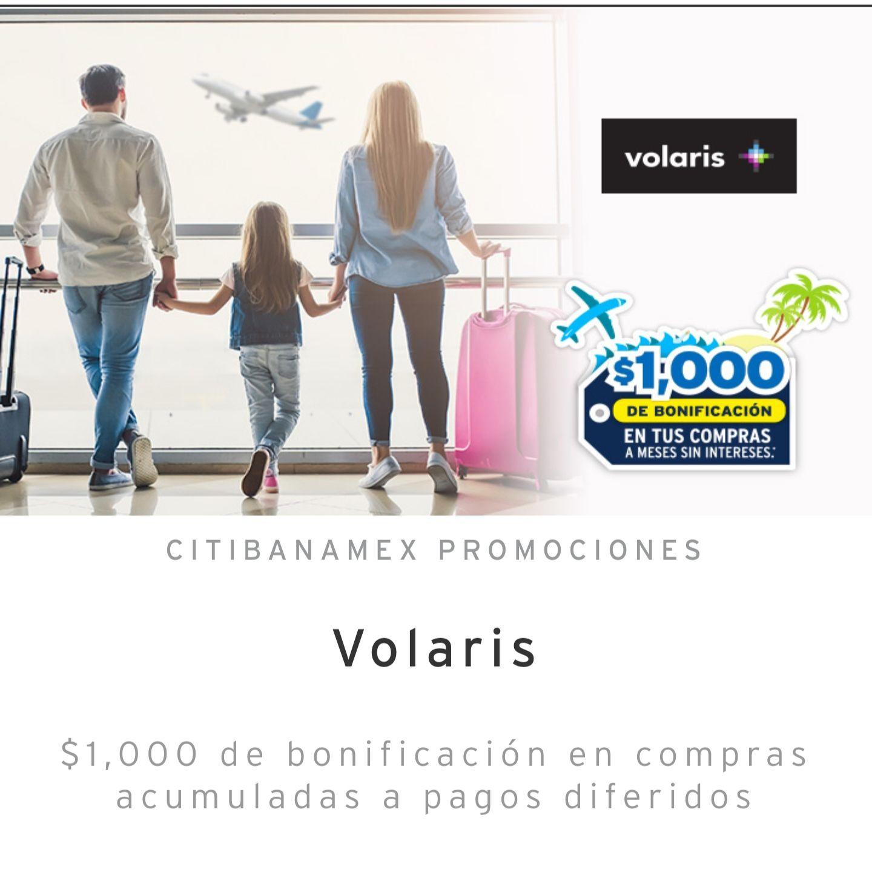 Citibanamex: $1000 de bonificación en compras de $10,000 a MSI en Viajes