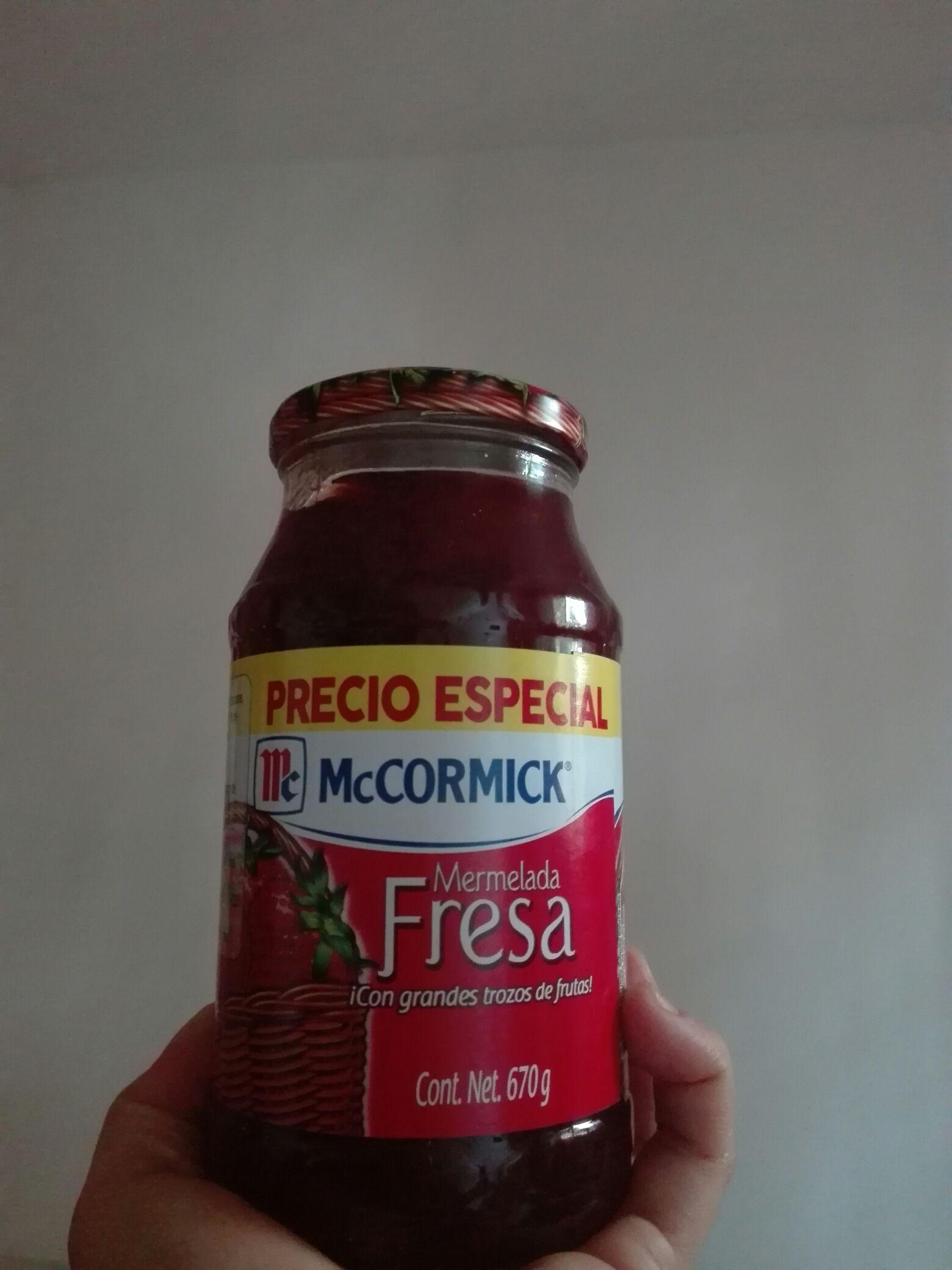 Bodega Aurrerá: Mermelada McCormick de Fresa