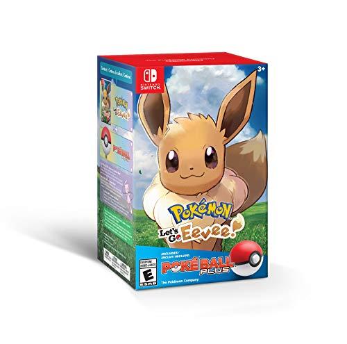 Amazon: Pokémon: Let's Go, Eevee! - Nintendo Switch (+ Poké Ball Plus Pack) - Bundle Edition