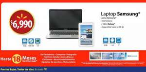 Walmart: laptop Samsung + Galaxy Tab 2 $6,990