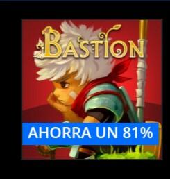 PSN :Bastion Ps4 Ps vita cross buy 2.80 dls