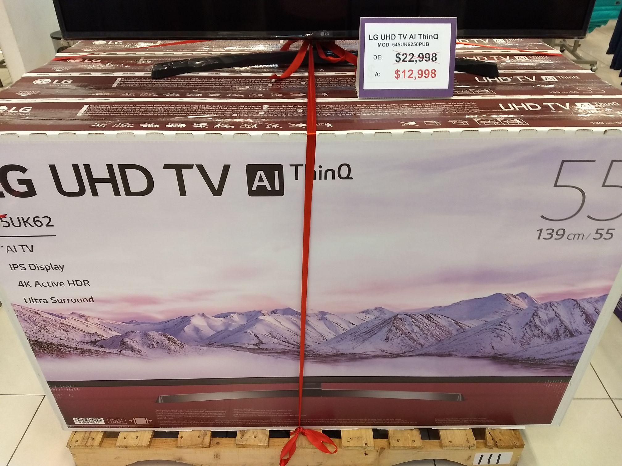Suburbia: LG UHD TV AI ThinQ 55 pulgadas