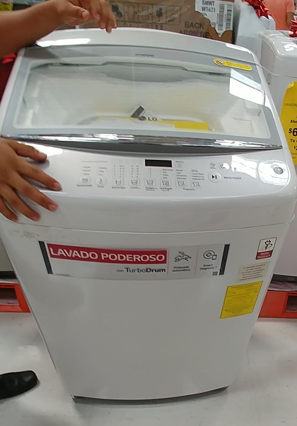 MEGA Soriana : Lavadora LG 18kg