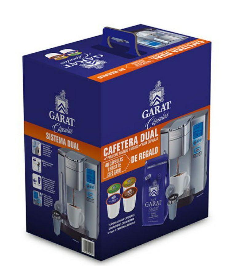 Walmart: Cafetera Cuisinart SS-10 + 48 Cápsulas Garat