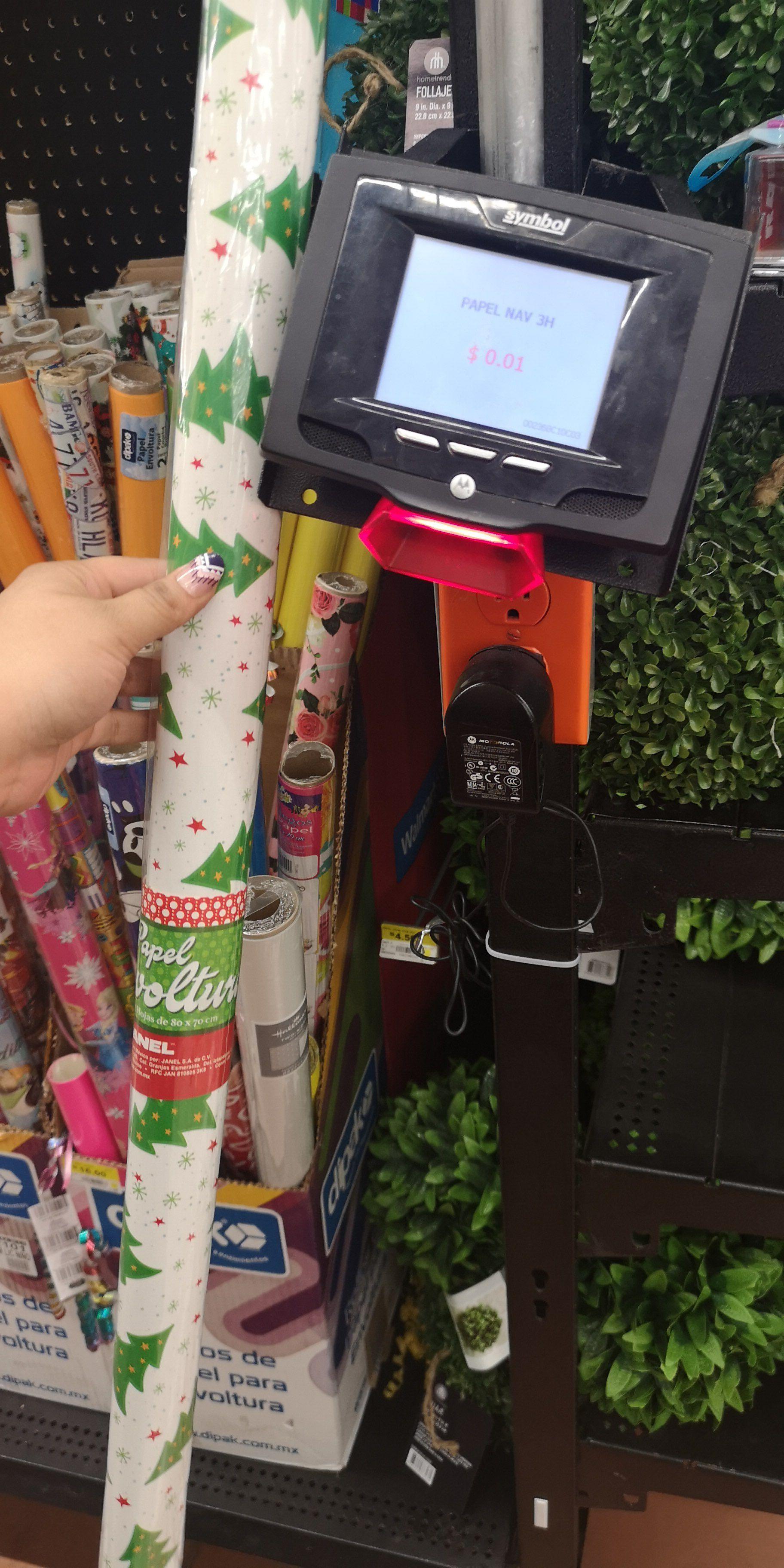 Walmart: papel regalo de navidad a centavo y varias cosas mas