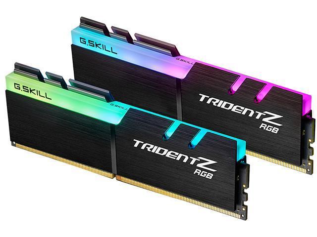 Newegg: G.SKILL TridentZ RGB 16 GB (2 x 8 GB) 3200 mhz