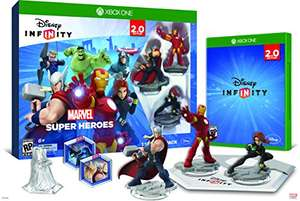 Amazon: Disney Infinity Marvel 2.0, Starter Pack Standard- Xbox One $499 y Wii U $898