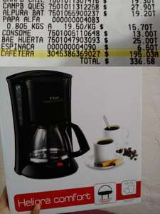 Walmart: Cafetera T-Fal Heliora Conmfort (10-15 tazas) a $195.03
