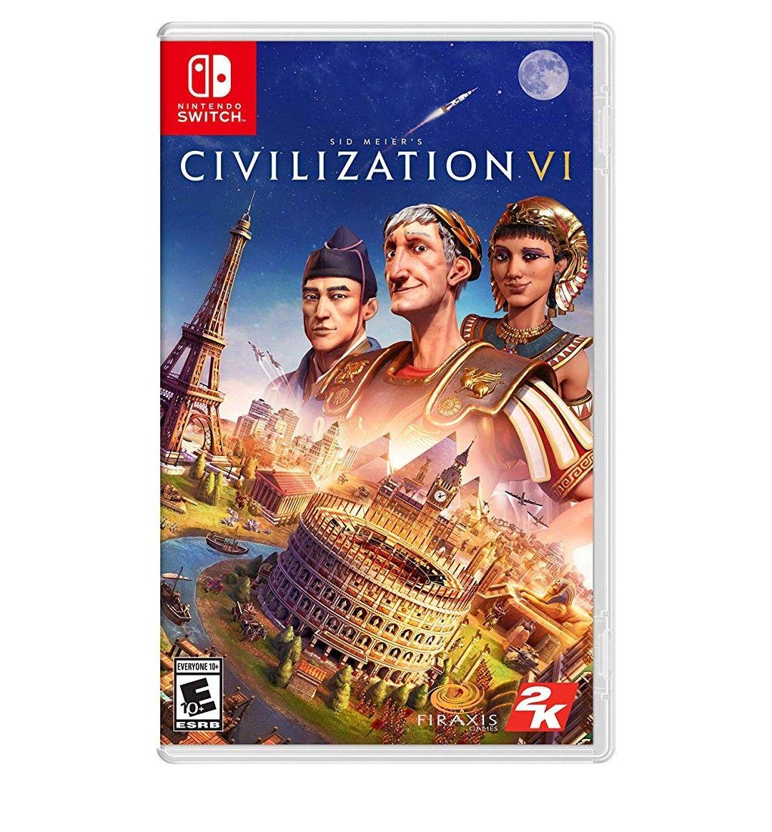 Amazon MX: Sid Meier's Civilization VI para Nintendo Switch