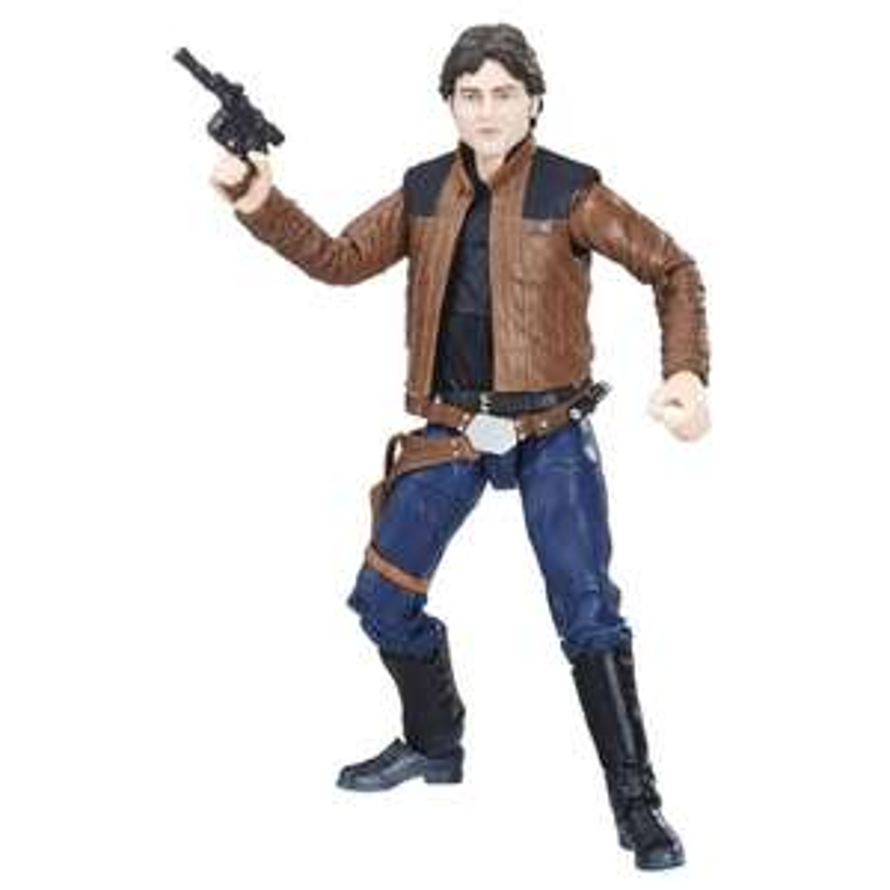 Walmart. Figura Han Solo 6 Pulgadas The Black Series Star Wars