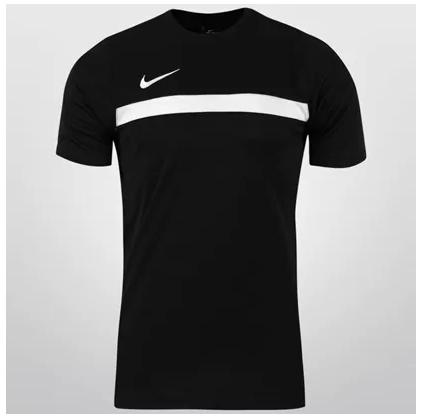 Netshoes: Playera nike academy (talla chica - color negro)