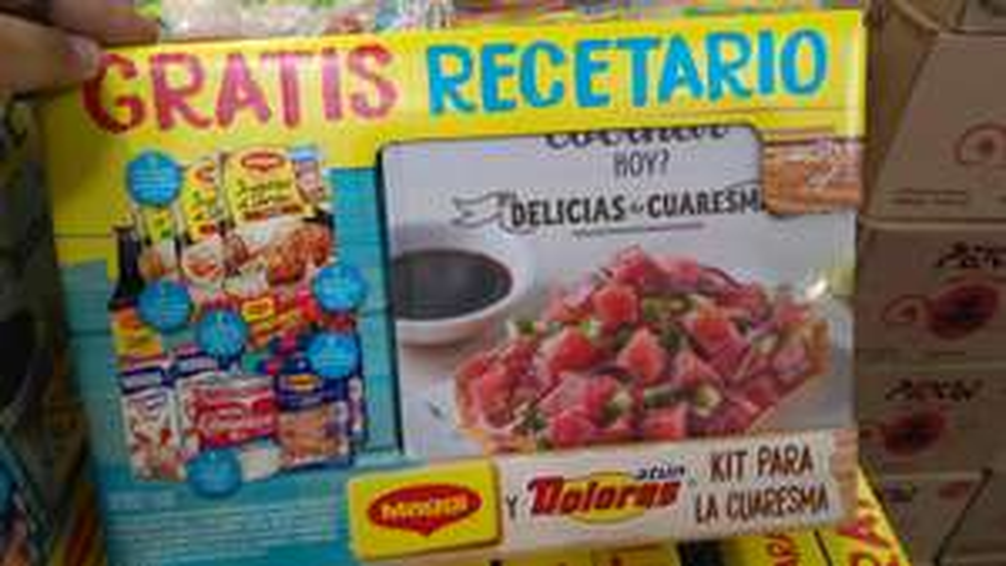 Bodega Aurrera: Paquete Maggi Dolores Cuaresma