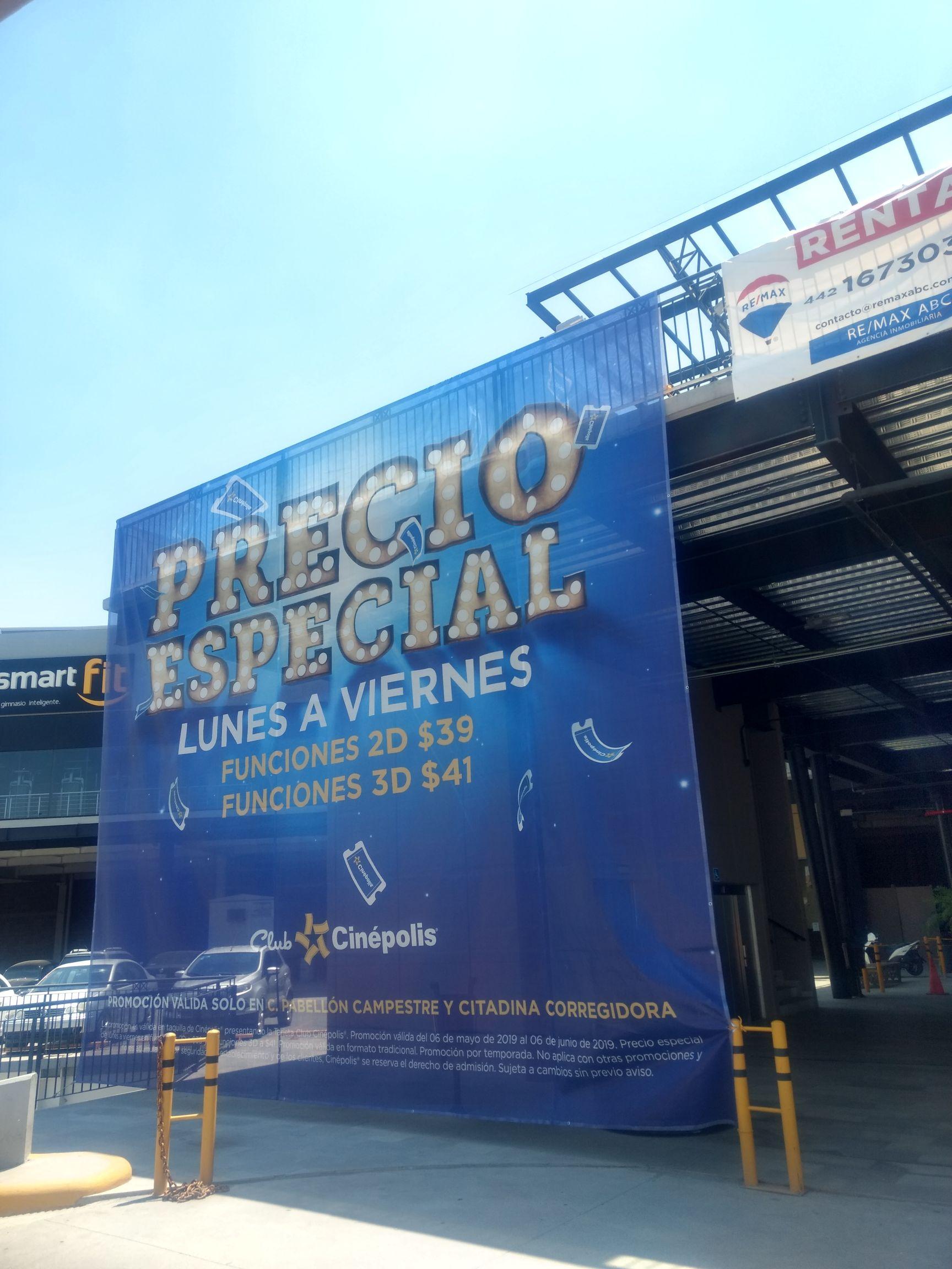 Cinépolis Querétaro: Entradas 2D y 3D