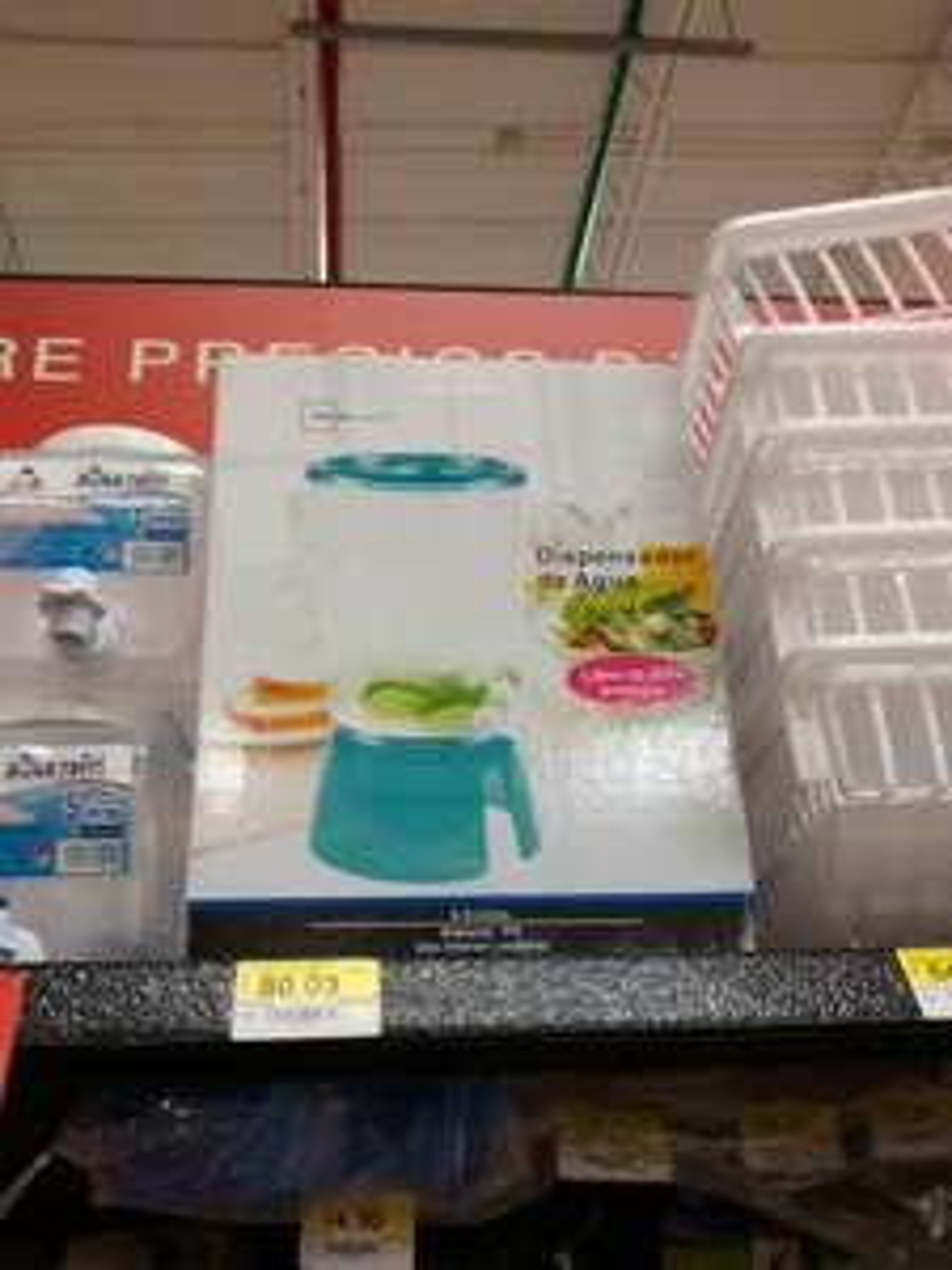 Walmart: dispensador de agua 8.9 litros a $80.03