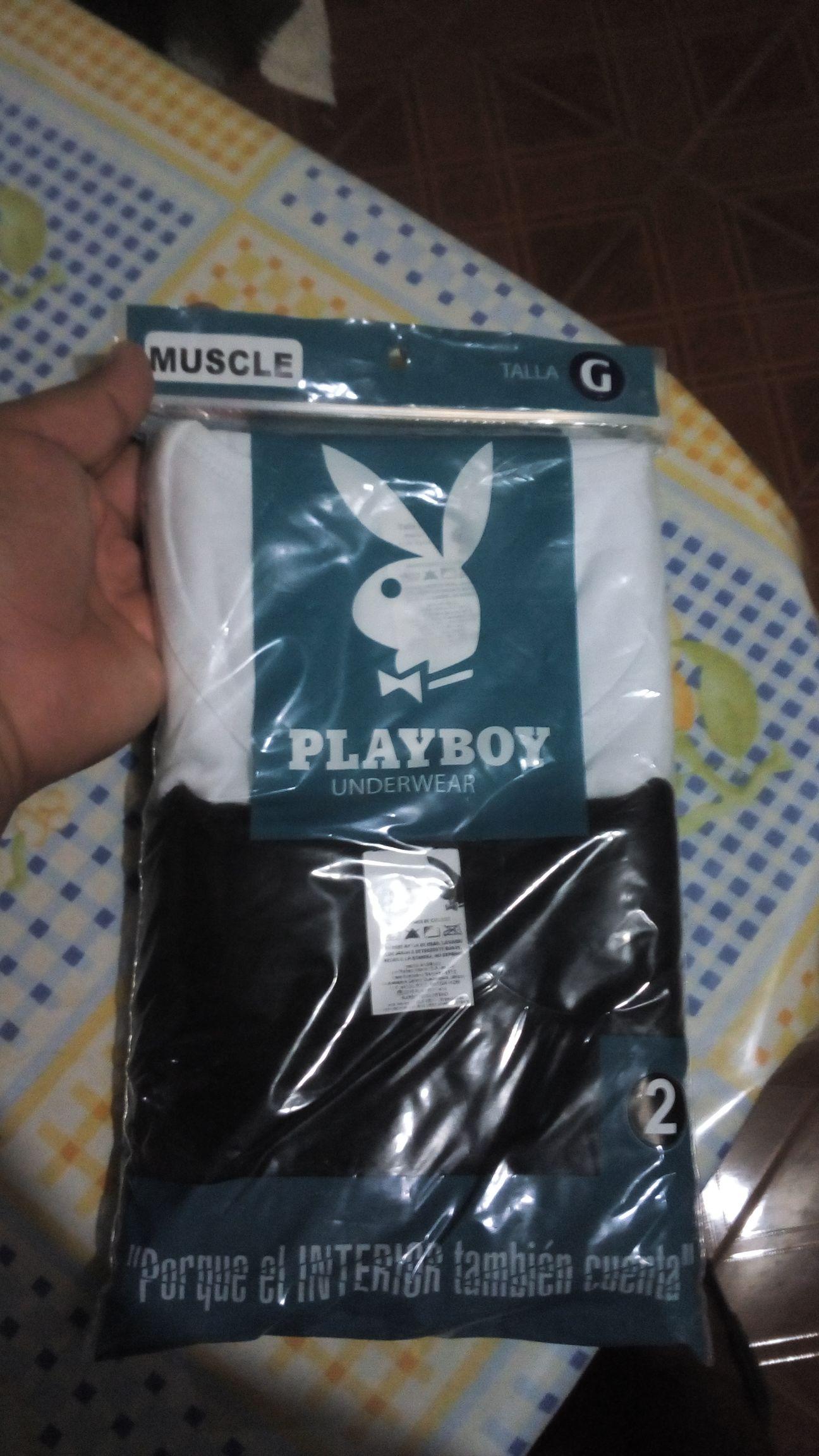 Chedraui Plaza Las Americas: Playeras y Boxer Marca Playboy