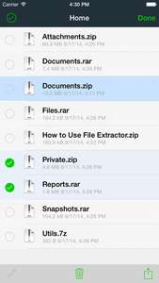 FIle Extractor para iOS GRATIS por 24 horas en Apple Appstore.