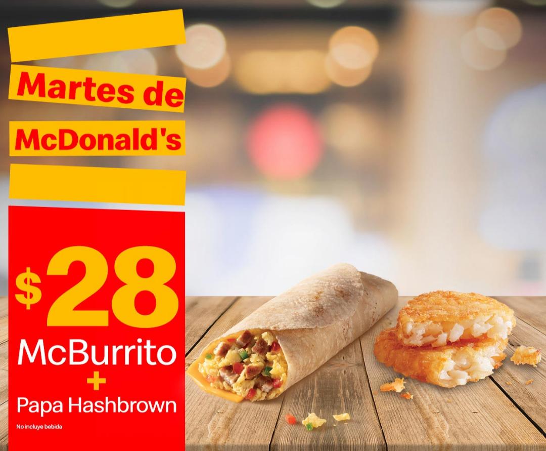 McDonald's: Martes de McDonald's 14 Mayo