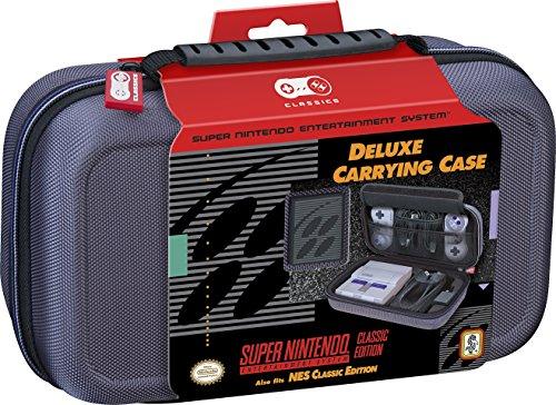 Amazon: Nintendo Deluxe – Estuche de viaje – para SNES y NES Classic