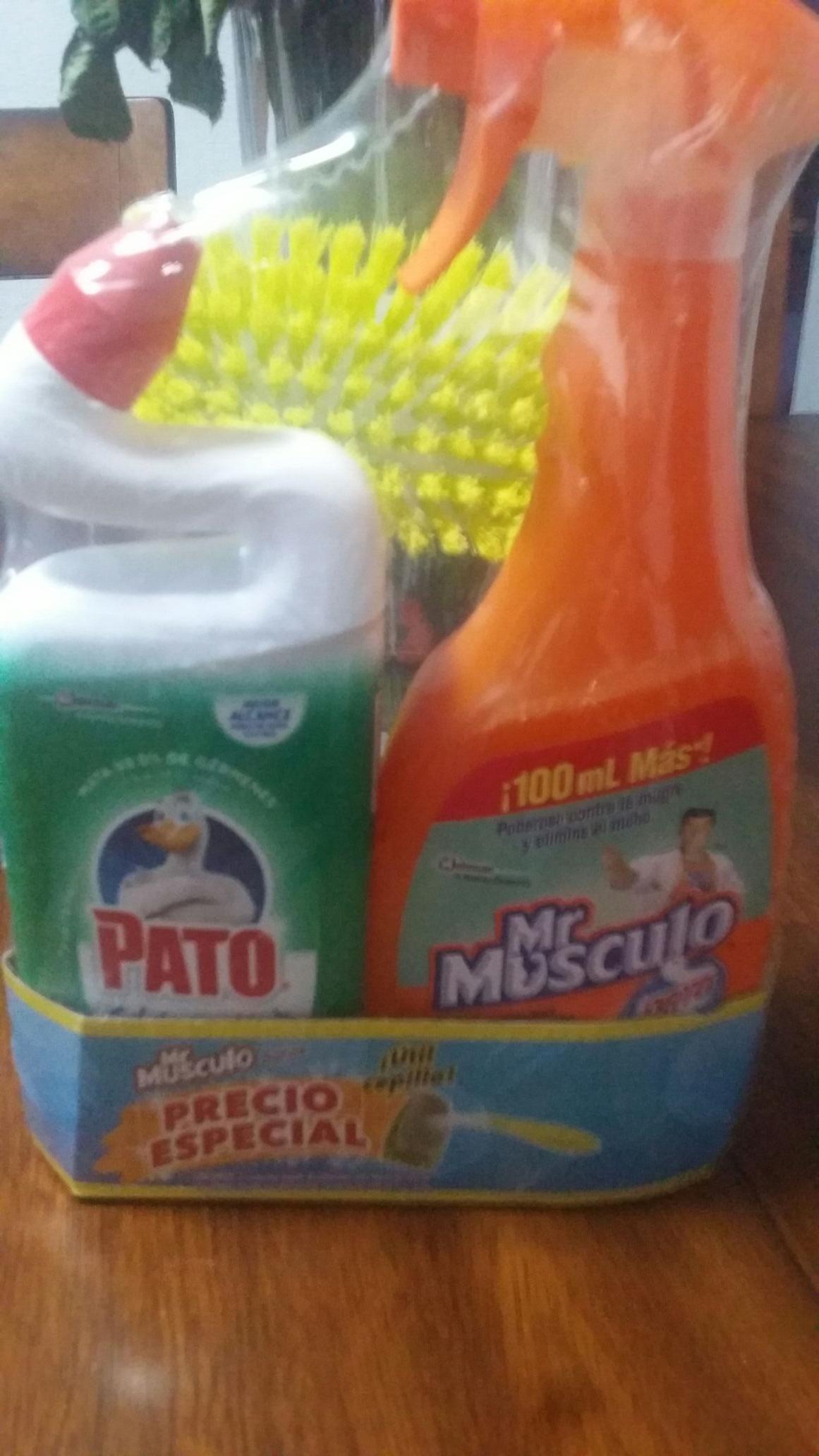 Walmart: Mr musculo y pato purific