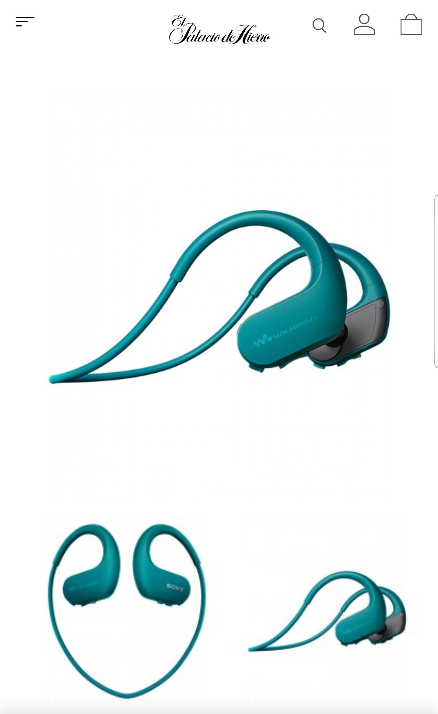 Palacio de Hierro: Sony Walkman NW-WS413 Azul