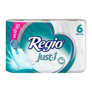 Superama: Papel higiénico Regio just one (2x$100)