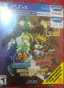 Gamers: P3D & P5D  Endless Night Collection(Incluye P4D y 2 personajes DLC)